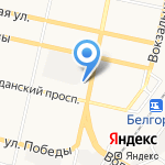 ПУЗЫРИ на карте Белгорода