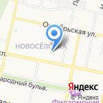 Детский сад №33 на карте Белгорода