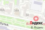 Схема проезда до компании Логос в Белгороде