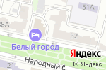 Схема проезда до компании СпортБелгород в Белгороде