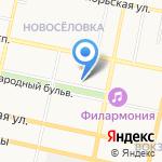 Логос на карте Белгорода
