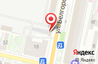 Схема проезда до компании Двери на проспекте в Белгороде