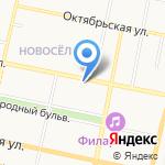 Скорая медицинская помощь на карте Белгорода