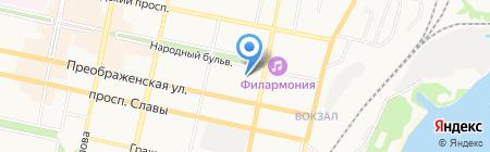 Детский сад №1 на карте Белгорода