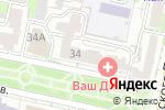 Схема проезда до компании Имидж-Мастер в Белгороде