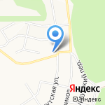 Затмение на карте Белгорода