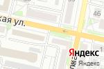 Схема проезда до компании Ника плюс в Белгороде