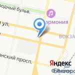 Общество охотников и рыболовов на карте Белгорода