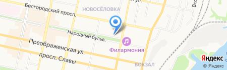 Зообутик на карте Белгорода