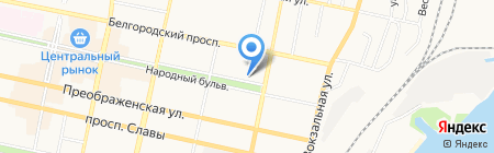 Имидж-Мастер на карте Белгорода