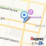 Мебелини на карте Белгорода