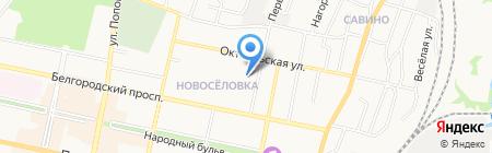 Горячая выпечка на карте Белгорода