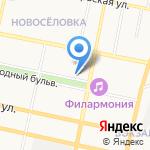 Соробан на карте Белгорода