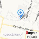 Белгородский Горводоканал на карте Белгорода