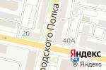 Схема проезда до компании Элекснет в Белгороде