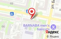 Схема проезда до компании Экватор в Белгороде