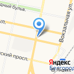 Диско на карте Белгорода