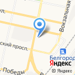 Электрон на карте Белгорода