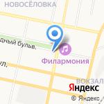Центр здоровья на карте Белгорода