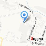 Центр технического обслуживания и кузовного ремонта на карте Белгорода