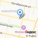 Участковый пункт полиции №22 на карте Белгорода