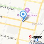 Белвнештранс на карте Белгорода