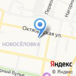 НБ Траст на карте Белгорода