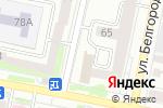 Схема проезда до компании Управление по труду и занятости населения Белгородской области в Белгороде