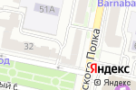 Схема проезда до компании Hair Star в Белгороде