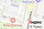Схема проезда до компании УЗИ МЕД в Белгороде
