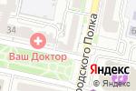 Схема проезда до компании SECRET FITNESS в Белгороде