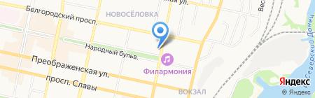 Точка Мира на карте Белгорода