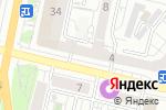 Схема проезда до компании Роза-Тур в Белгороде