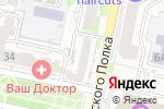 Схема проезда до компании Massage в Белгороде