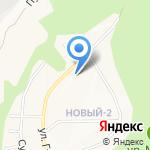 Лилия на карте Белгорода