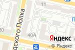 Схема проезда до компании БРООСМР в Белгороде