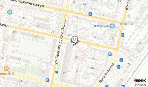 Фотосалон. Схема проезда в Белгороде