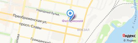 Евросервис на карте Белгорода