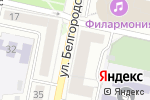 Схема проезда до компании Всероссийский банк развития регионов в Белгороде