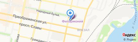 Нотариус Волосенок И.А. на карте Белгорода