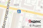 Схема проезда до компании Нофелет-Сервис в Белгороде