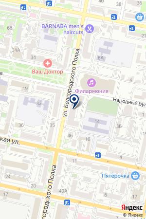 ЛАНДШАФТНО-СТРОИТЕЛЬНАЯ КОМПАНИЯ ЕВРОСЕРВИС на карте Белгорода