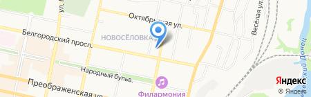 Успех на карте Белгорода