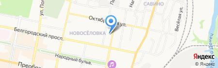 Медовый Рай на карте Белгорода