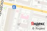 Схема проезда до компании Отделенческая больница на станции Белгород в Белгороде