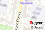 Схема проезда до компании Bizzarro в Белгороде