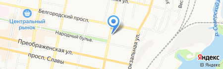 Veneta на карте Белгорода