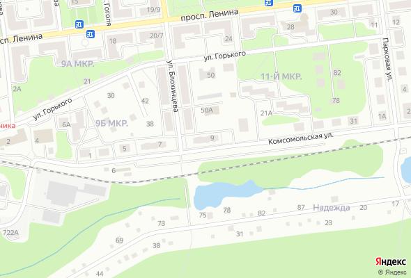 жилой комплекс по ул. Комсомольская