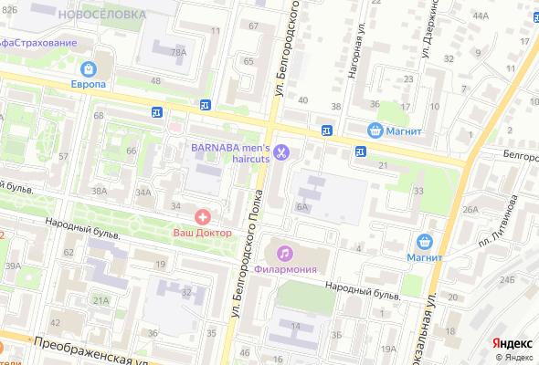 жилой комплекс Белгородского полка 62