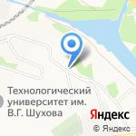 Почтовое отделение №20 на карте Белгорода